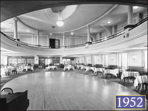The Fort Harrison's Crystal Ballroom, circa 1952
