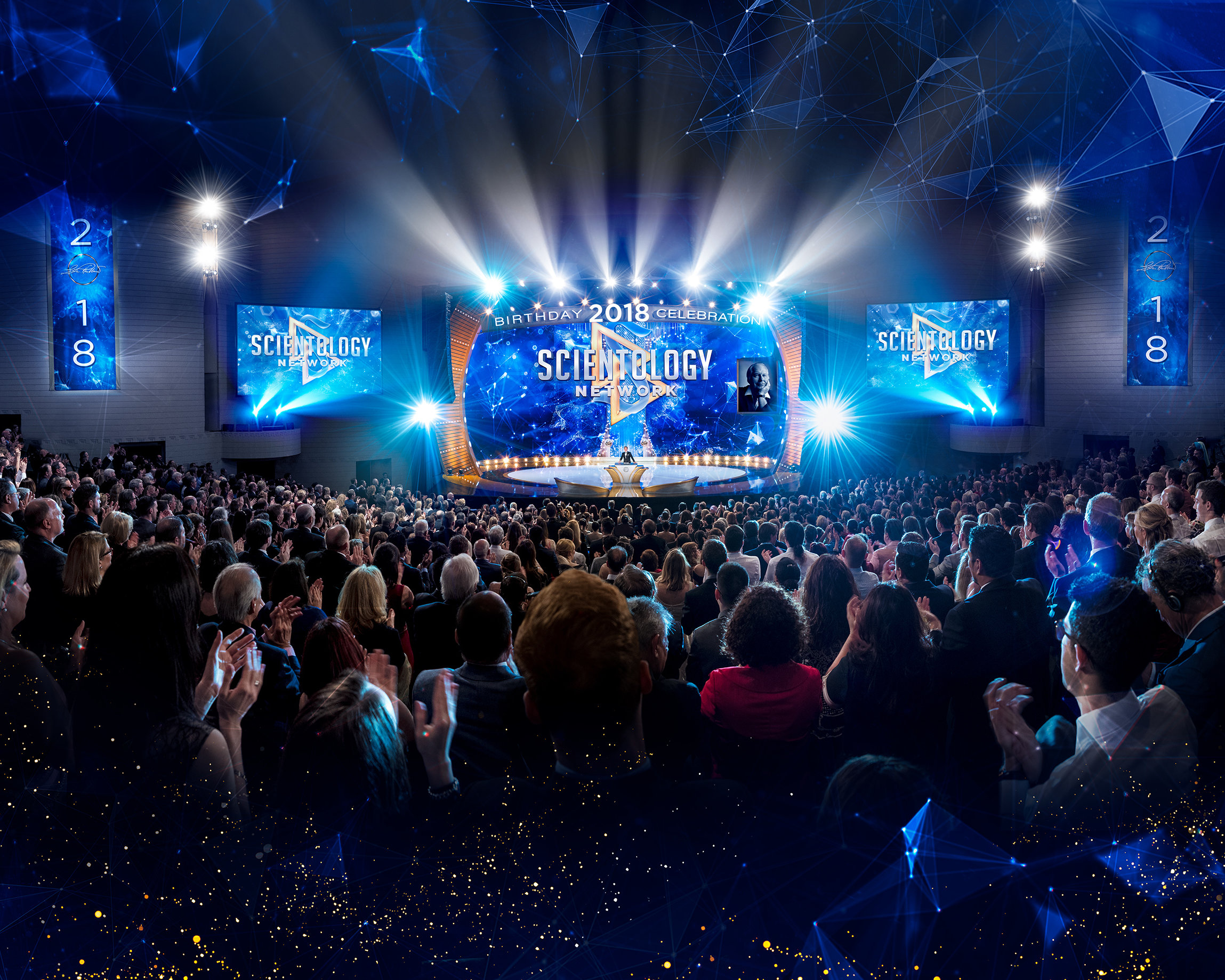 """Thousands Converge to Mark Scientology Founder's Birthday and a """"Flip of the Switch"""" for Unrelenting Dissemination"""
