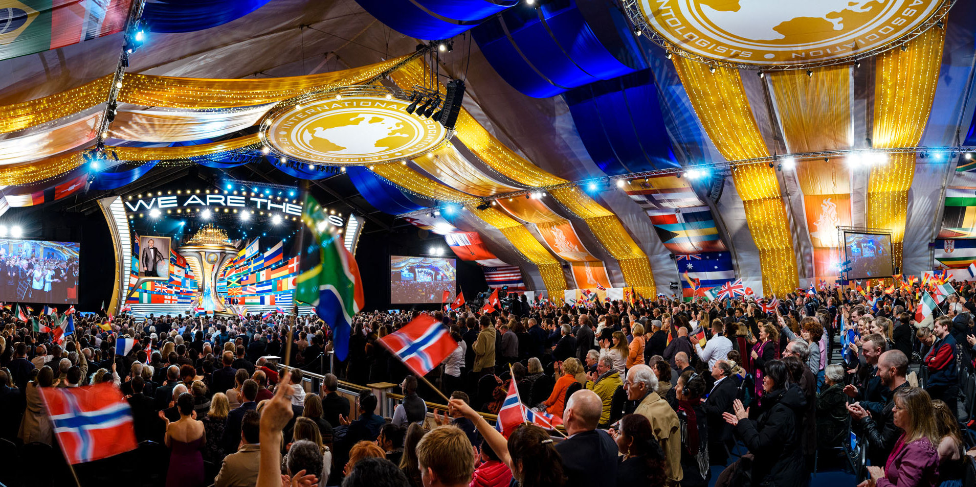 L'anniversaire de l'Association internationale des Scientologues