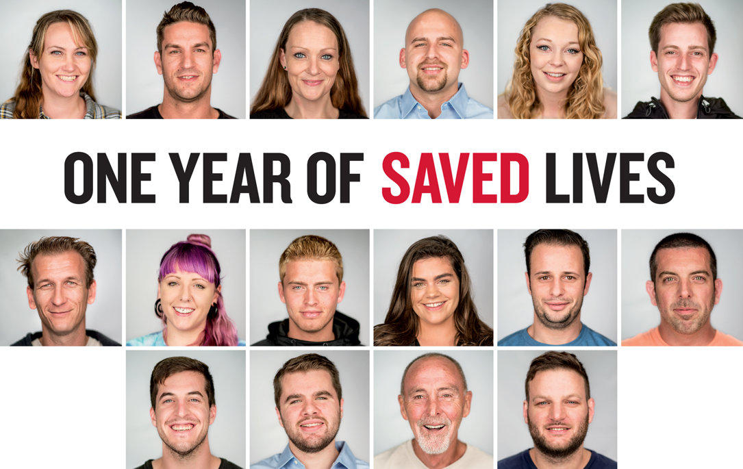 One Year of Saved Lives