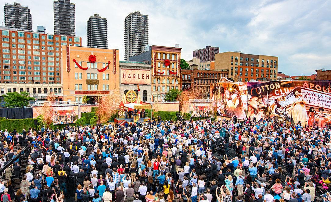 Scientologi-kyrkan i Harlem invigning