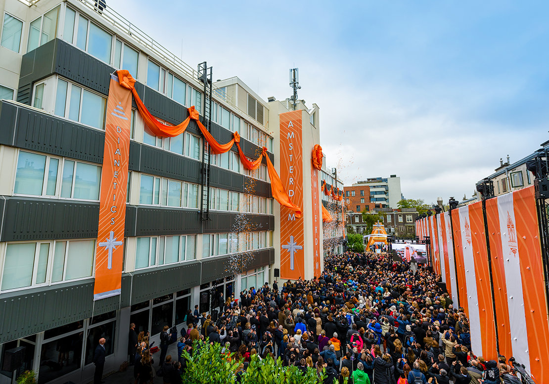 Church of Scientology Amsterdam Grand Opening