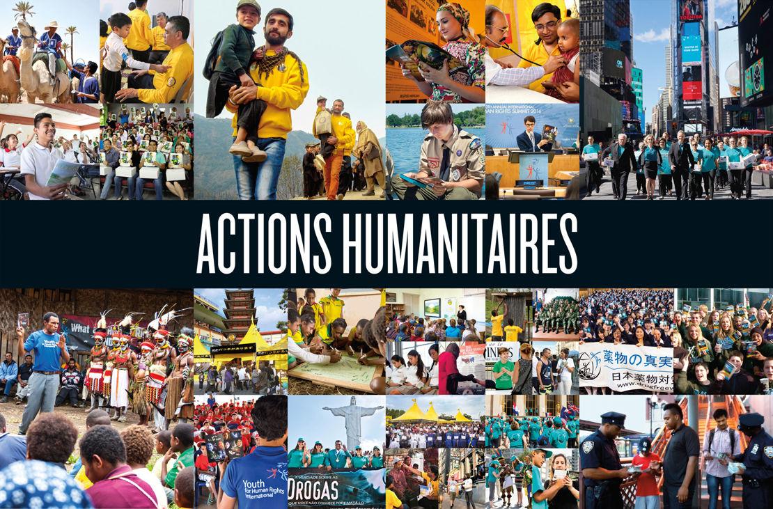 Des humanitaire