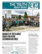 לימוד חובה של 'האמת על סמים' בכל חיל האוויר של קולומביה