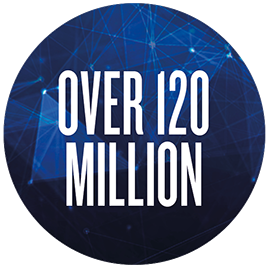 Over 120 million