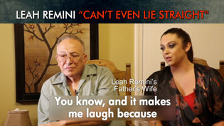 """Leah Remini """"Can't Even Lie Straight"""""""