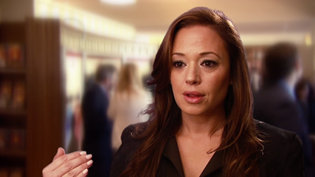 Leah Remini at the Inglewood Ideal Org Opening in2011.