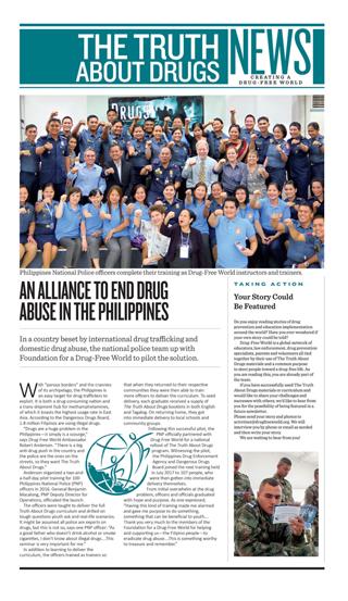 Drug Free World Newsletter