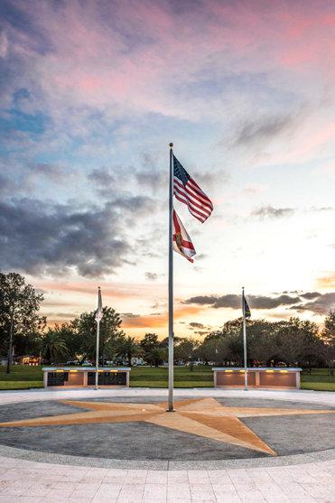 Veterans Memorial in Clearwater