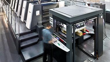 Macchina da stampa offset a fogli del Centro di Disseminazione e Distribuzione