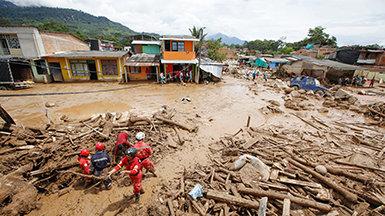 Scientology VMs respond after devastating landslides in Colombia