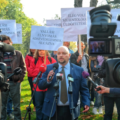 Hungarian Scientologists STAND Up to Government Oppression