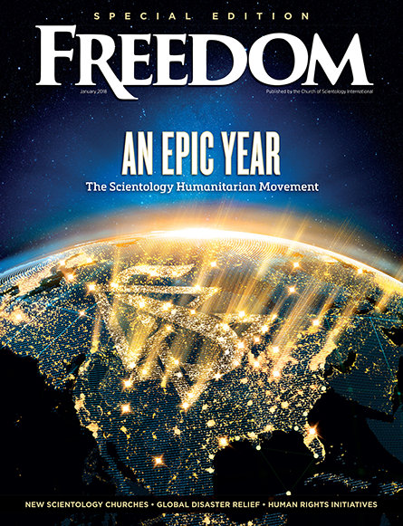 An Epic Year: The Scientology Humanitarian Movement