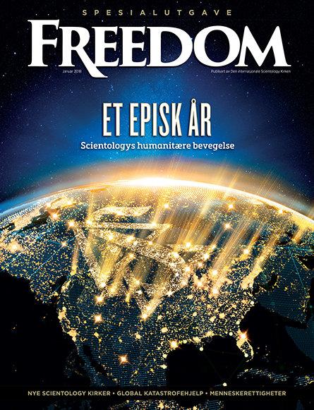 Et episk år: Scientologys humanitære bevegelse