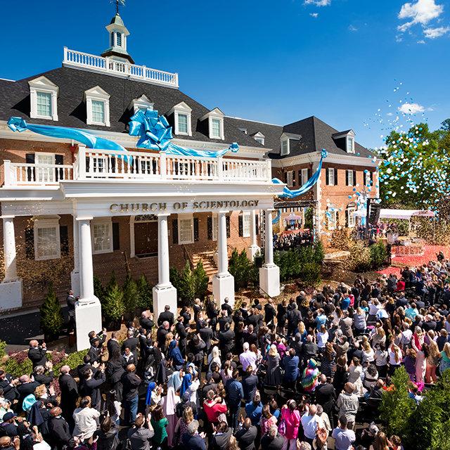 L'inaugurazione della Chiesa di Scientology ad Atlanta in Georgia
