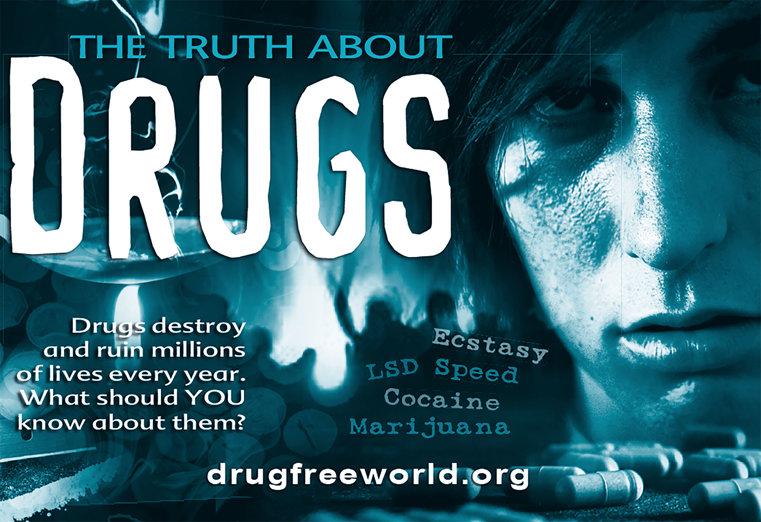 Häftet Sanningen om syntetiska droger