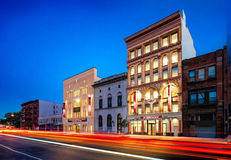 Scientology Kerk van Harlem