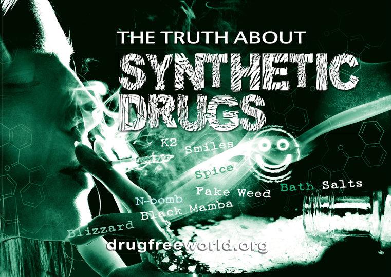 El folleto de La Verdad Sobre las Drogas Sintéticas