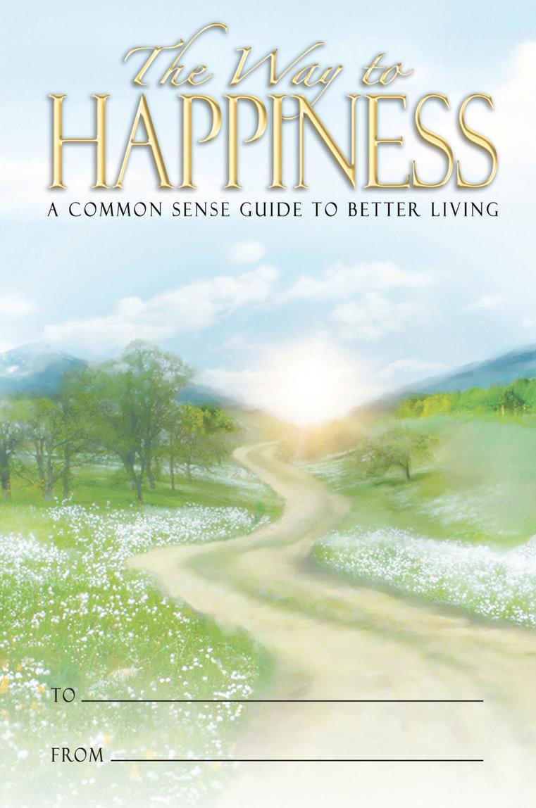 El librito de El Camino a la Felicidad.