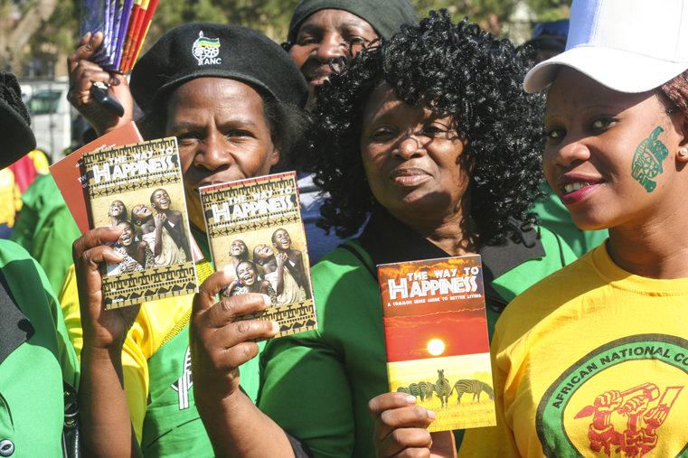 Vägen till lycka i Sydafrika