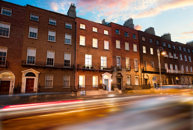 Invigningen av Irlands nationella kontor