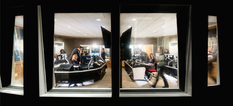 Media control room