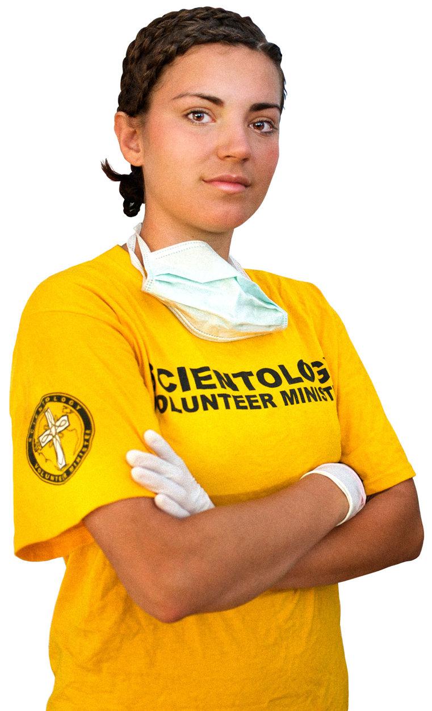 Scientologins frivilligpastorer i 1293 städer över hela världen