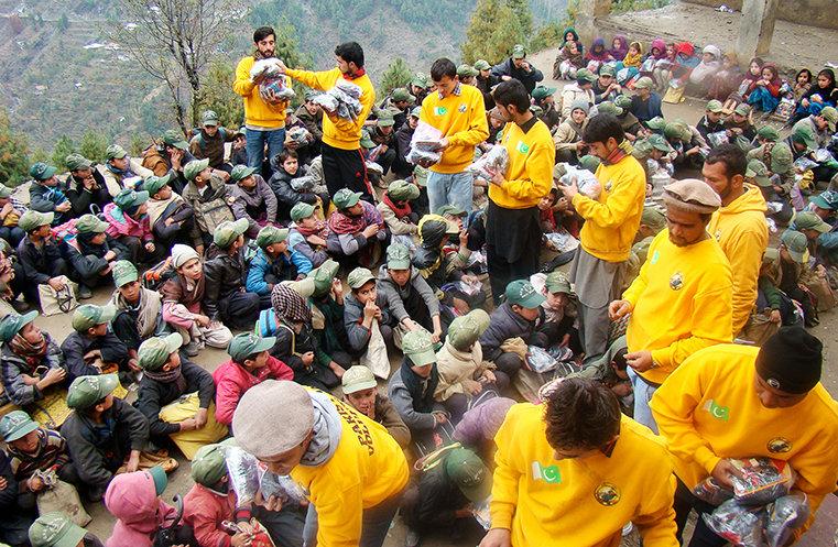 Les ministres volontaires aident le Pakistan