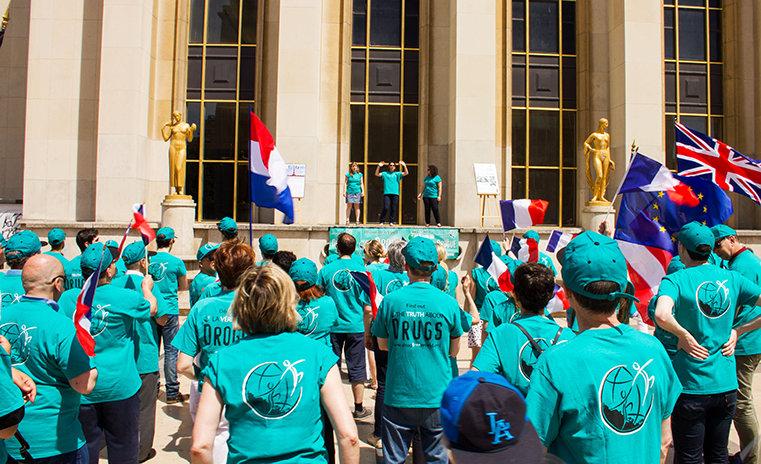 Rally van de Zeg Nee tegen Drugs, Zeg Ja tegen het Leven Associatie