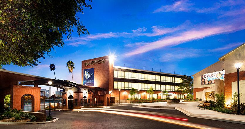 Scientology Media Productions exterior