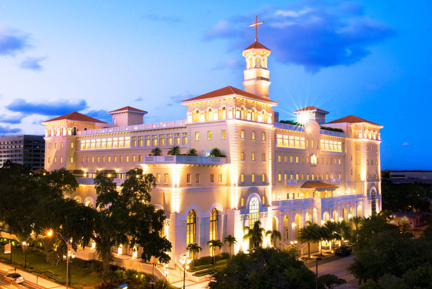 Church of Scientology spiritual headquarters in Clearwater, Florida