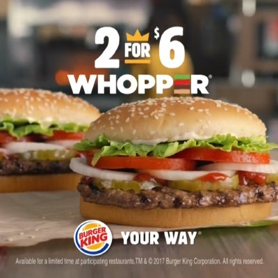 Burger King Offering Bigotry on their Menu?