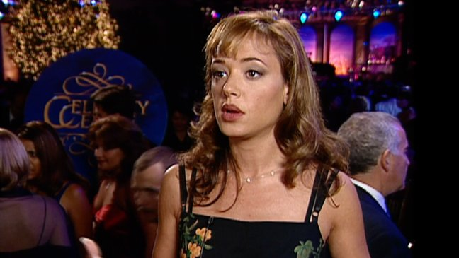 Leah Remini at the Celebrity Centre International Annual Gala 1999