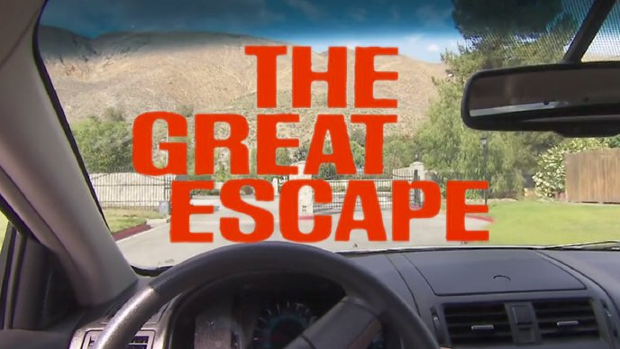 """<span class=""""callout"""">Watch:</span> The Great """"Escape"""""""