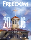 Freedom Magazine. December 2016. The Year in Review issue cover