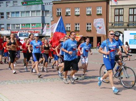 Anti-drug marathon in Czech Republic