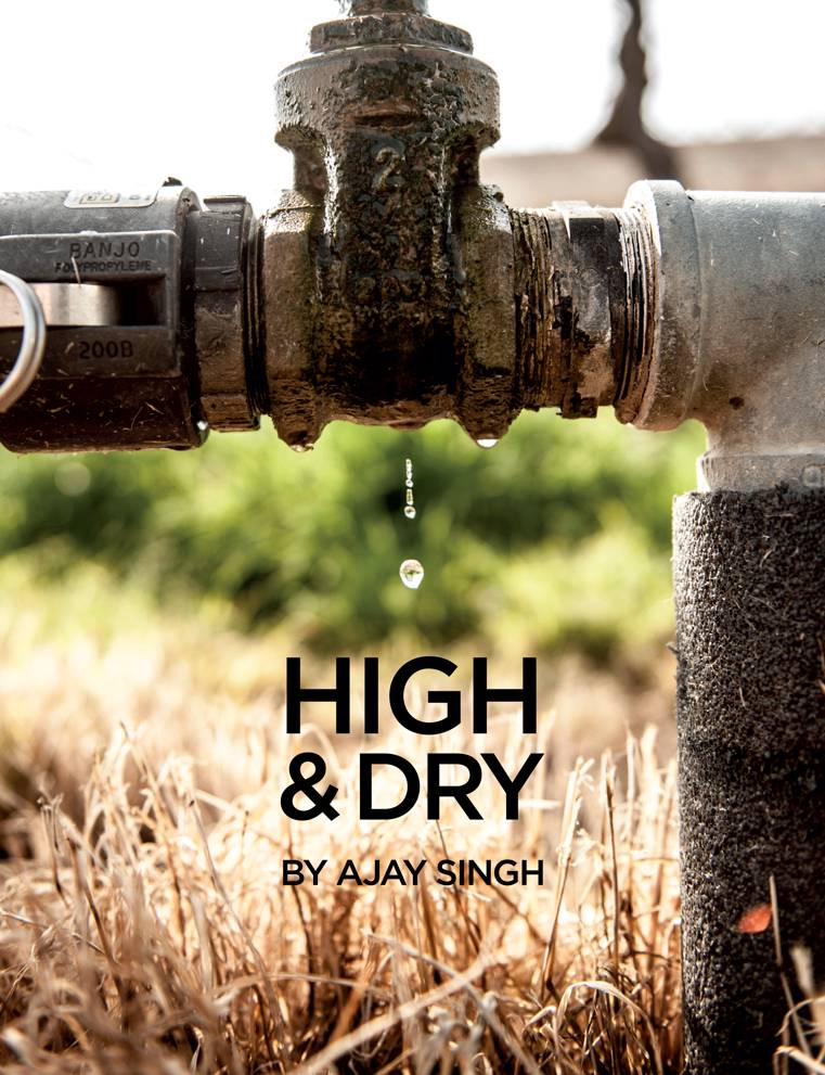High and Dry. by Ajay Singh